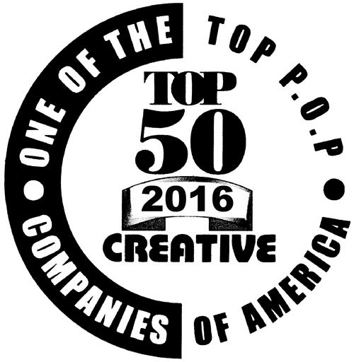 2016 Top 50 P.O.P. Companies of America    Creative Magazine