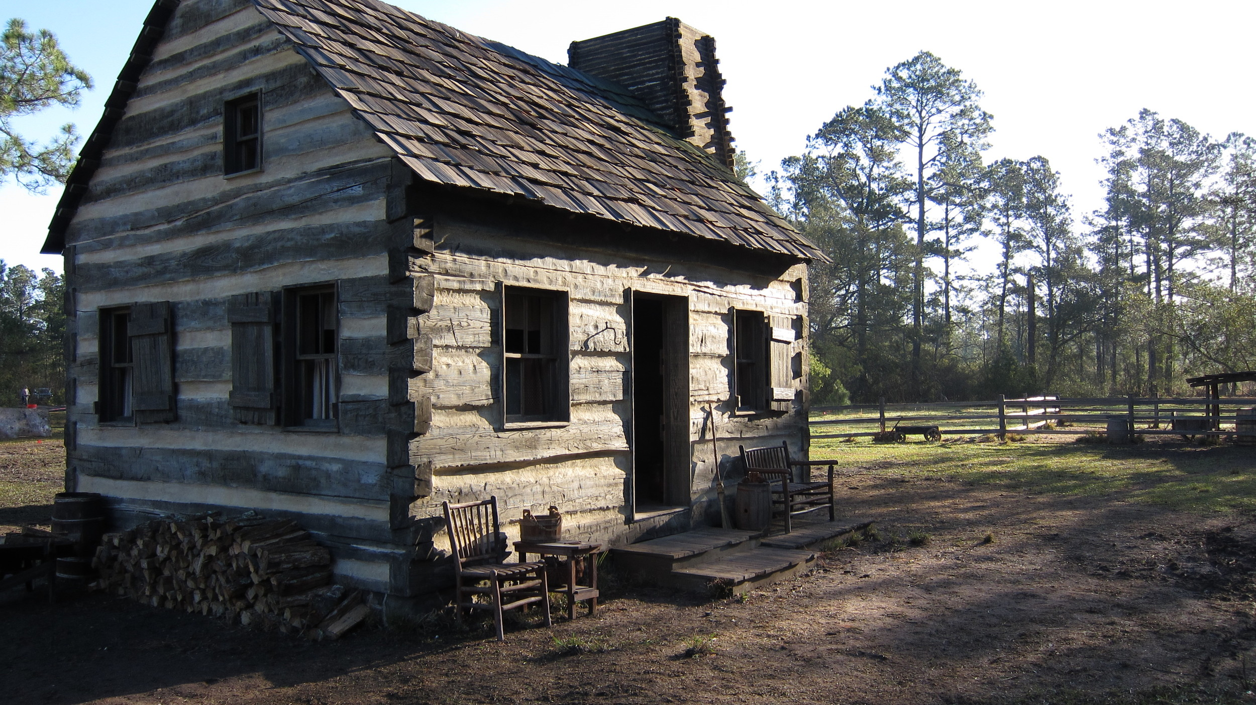 Lincoln family cabin