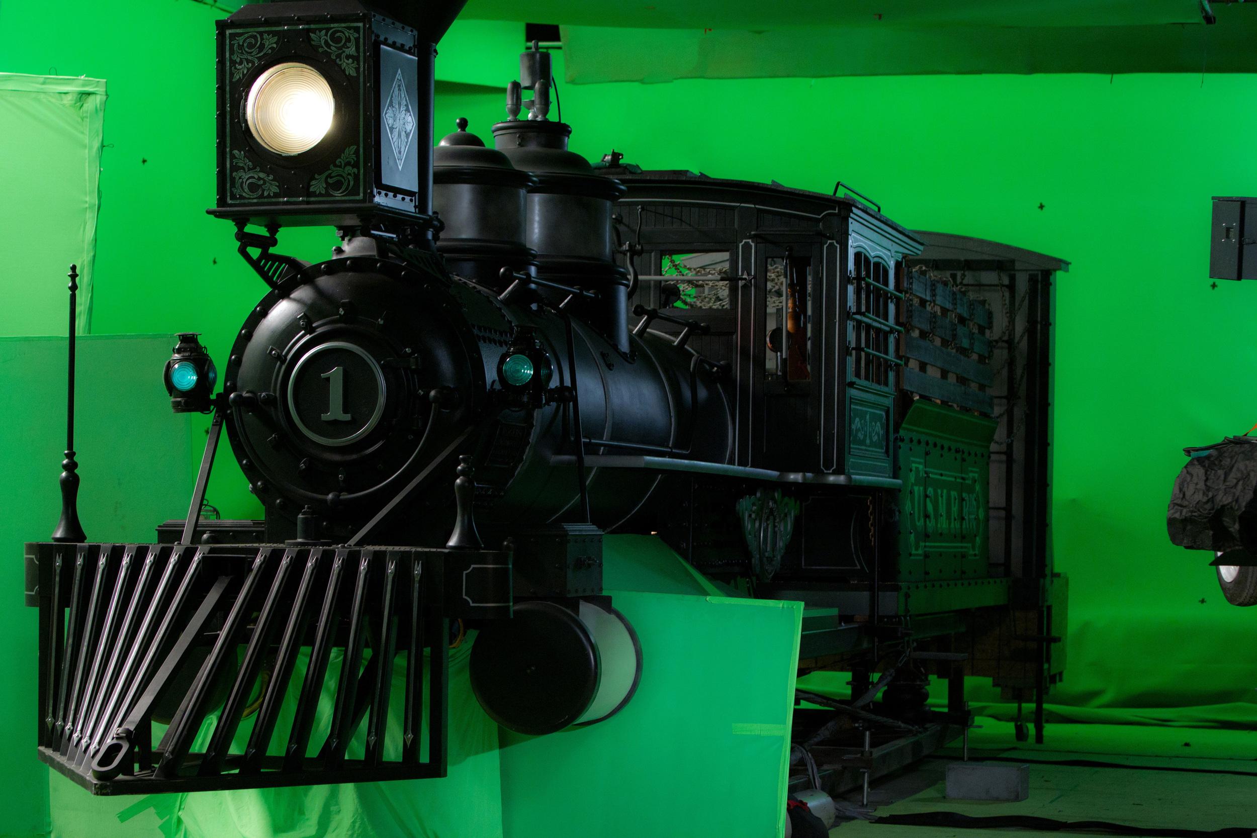 Lincoln's silver train