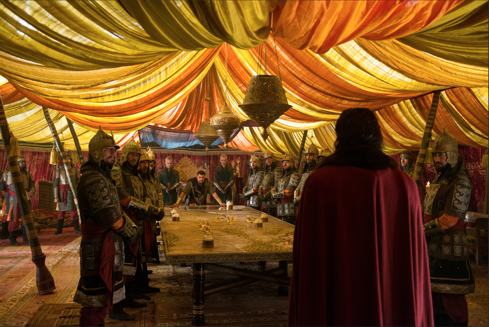 Mehmed's tent