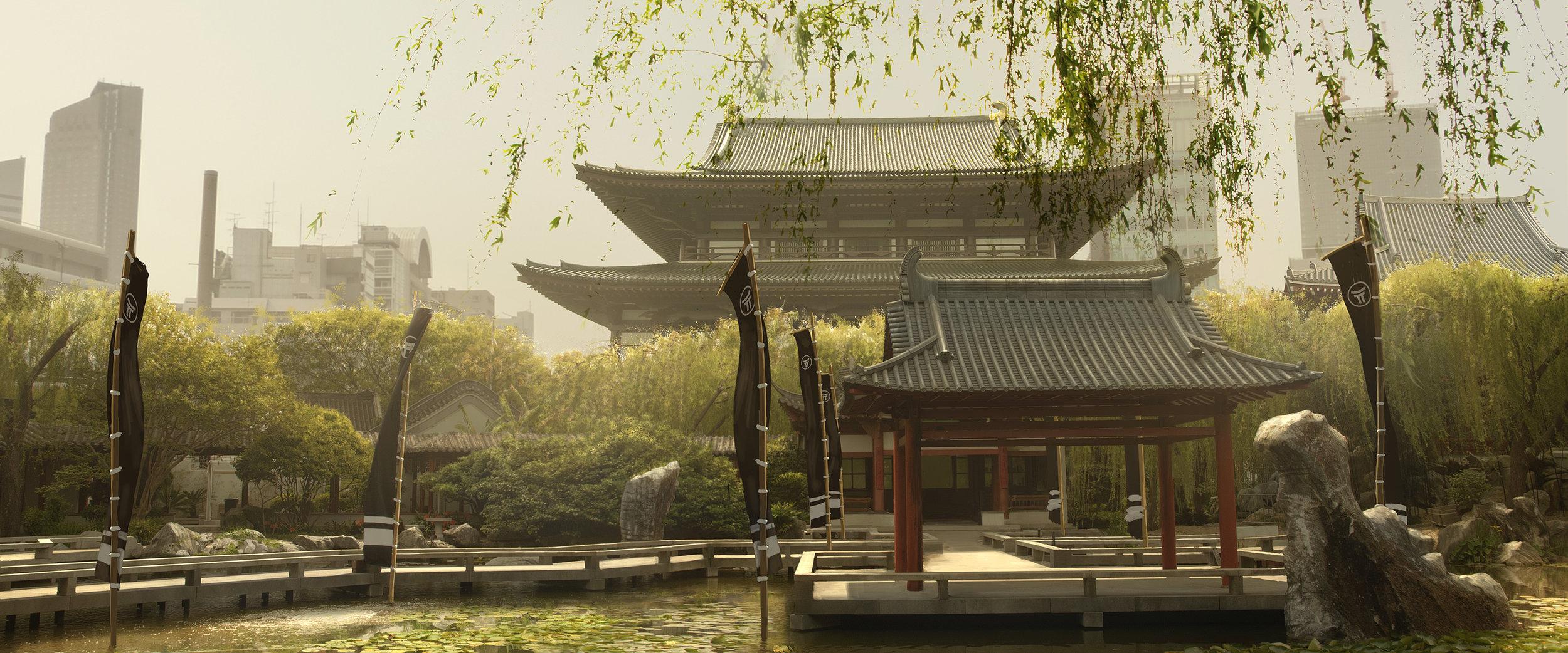 Tokyo - Buddhist temple