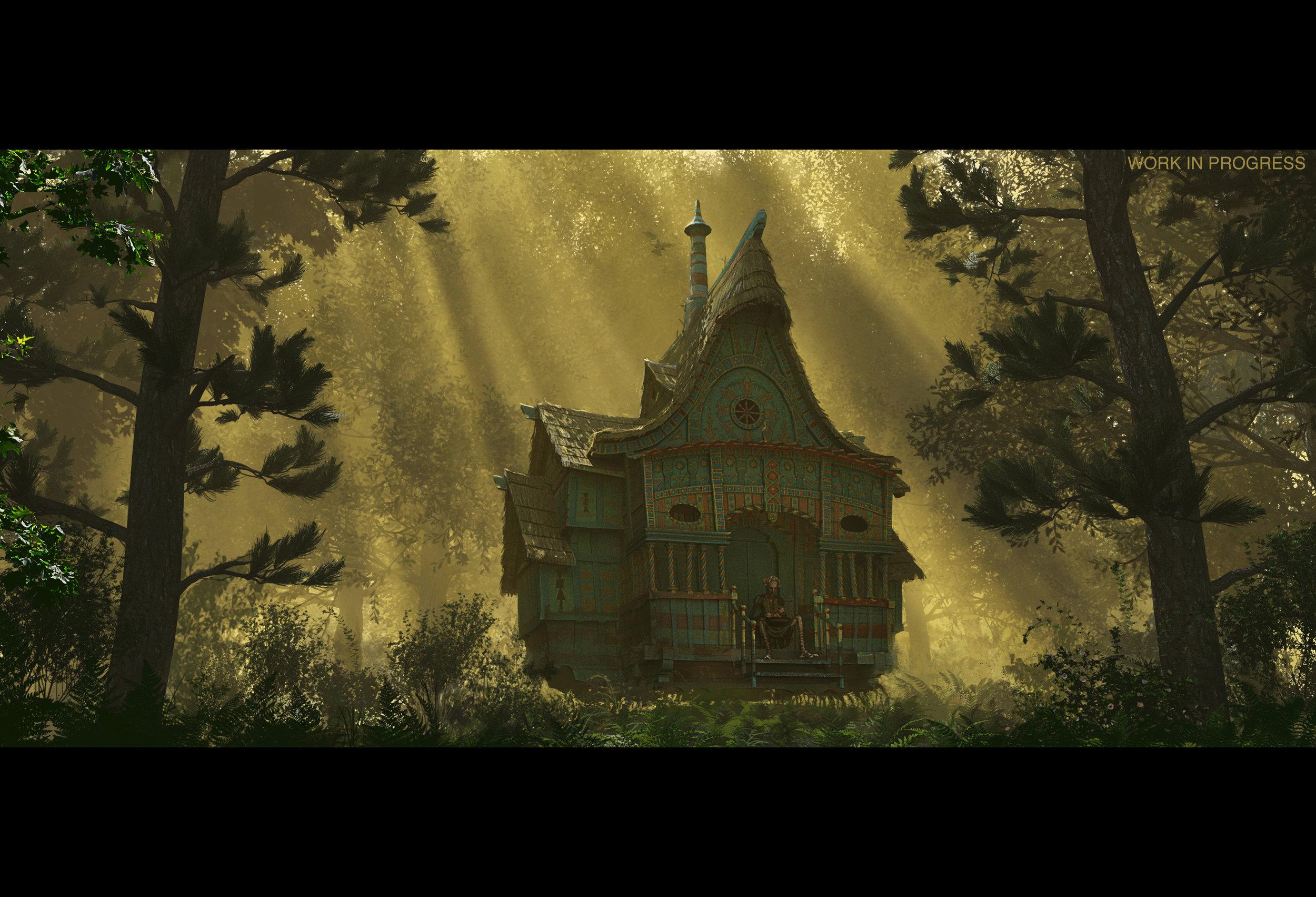 Baba Yaga's cottage