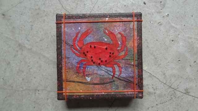 Crab 6  5 x 5    $50.jpg