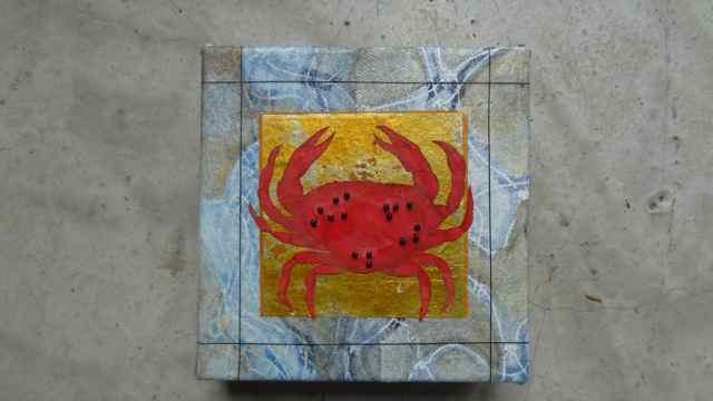 Crab 4  5 x 5   $50.jpg