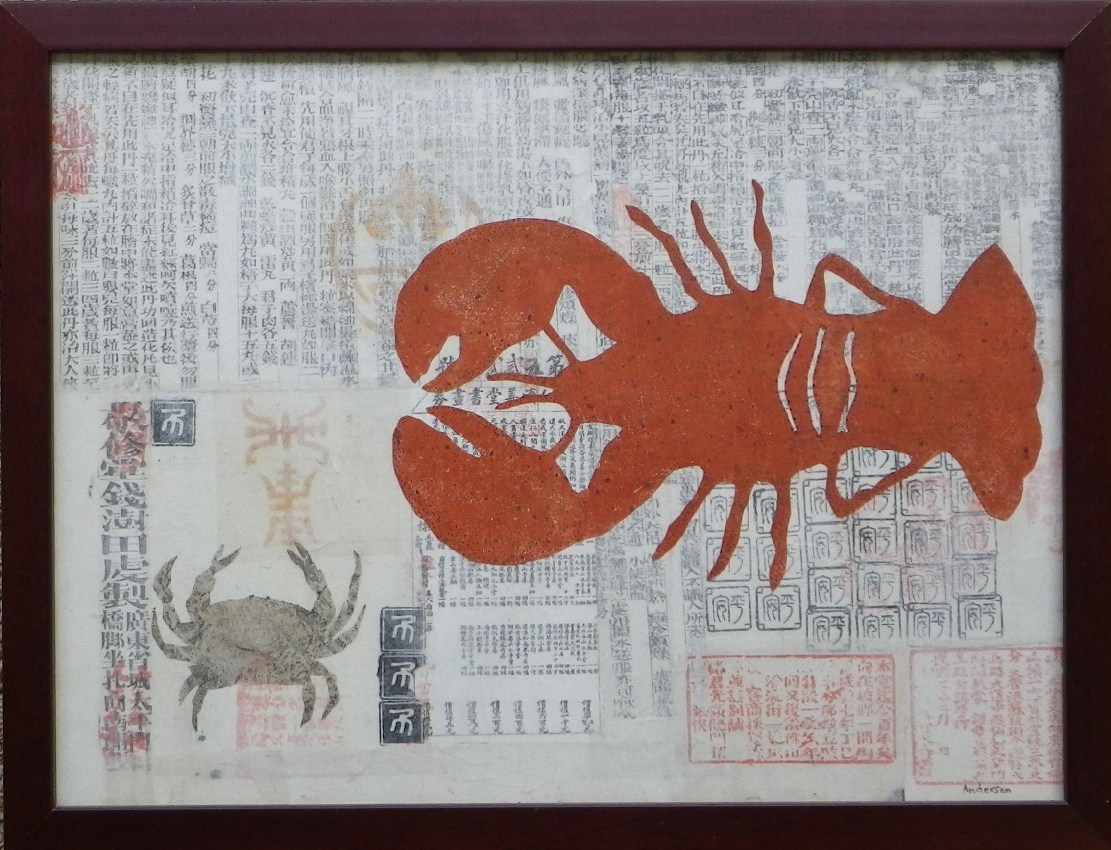 Kanji Crab with Lobster