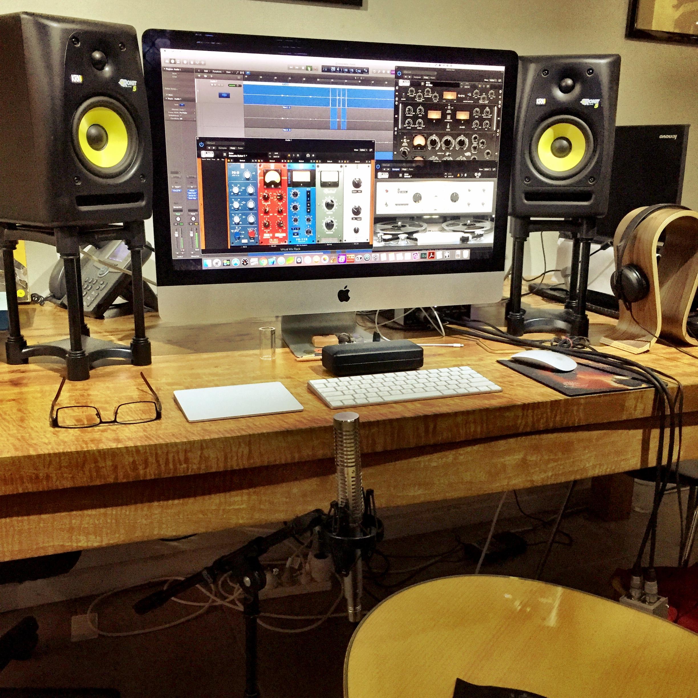 My new recording setup