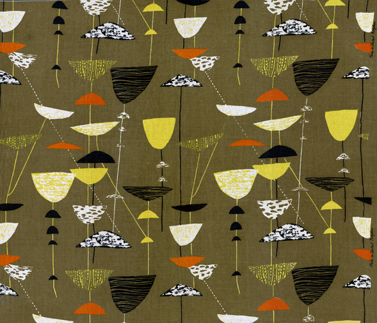 """Lucienne Day """"Calyx"""" 1951"""