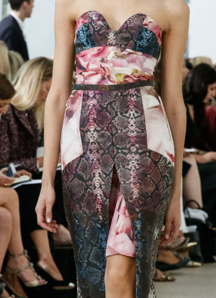 Preen-snake and rose patchwork