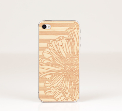Spring has come early! Peony Lazerwood iphone cover by Anne Marie Jackson