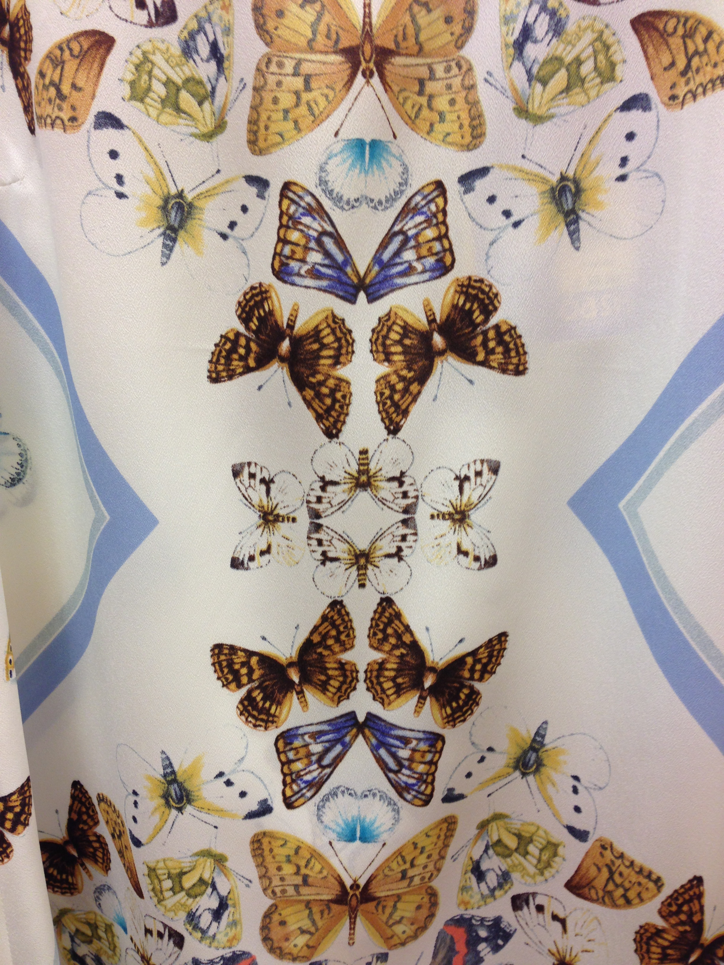 Butterfly Print- Oasis