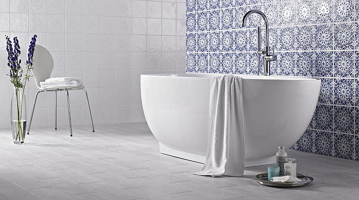 B&Q decorative tiles