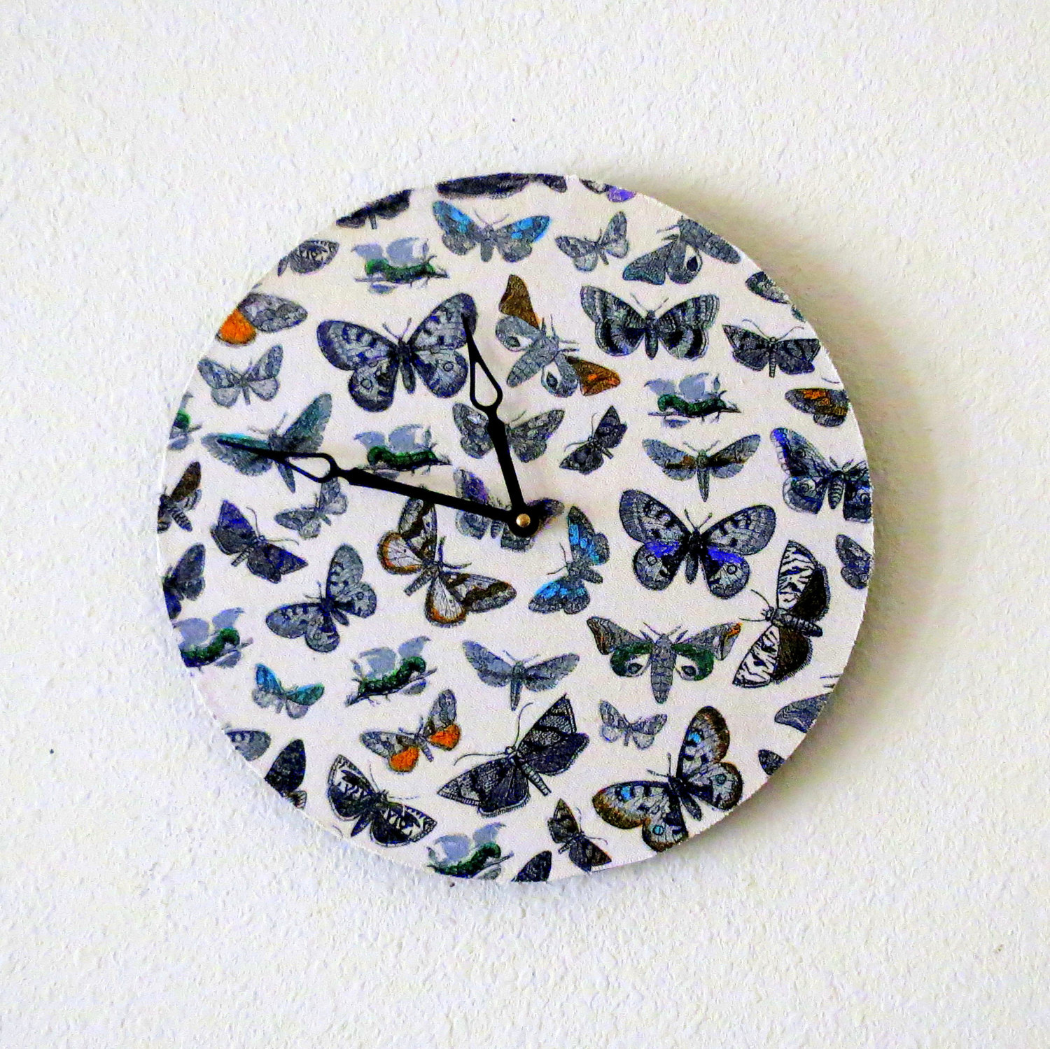 Time seems to flutter by. Shannybeebo -Etsy