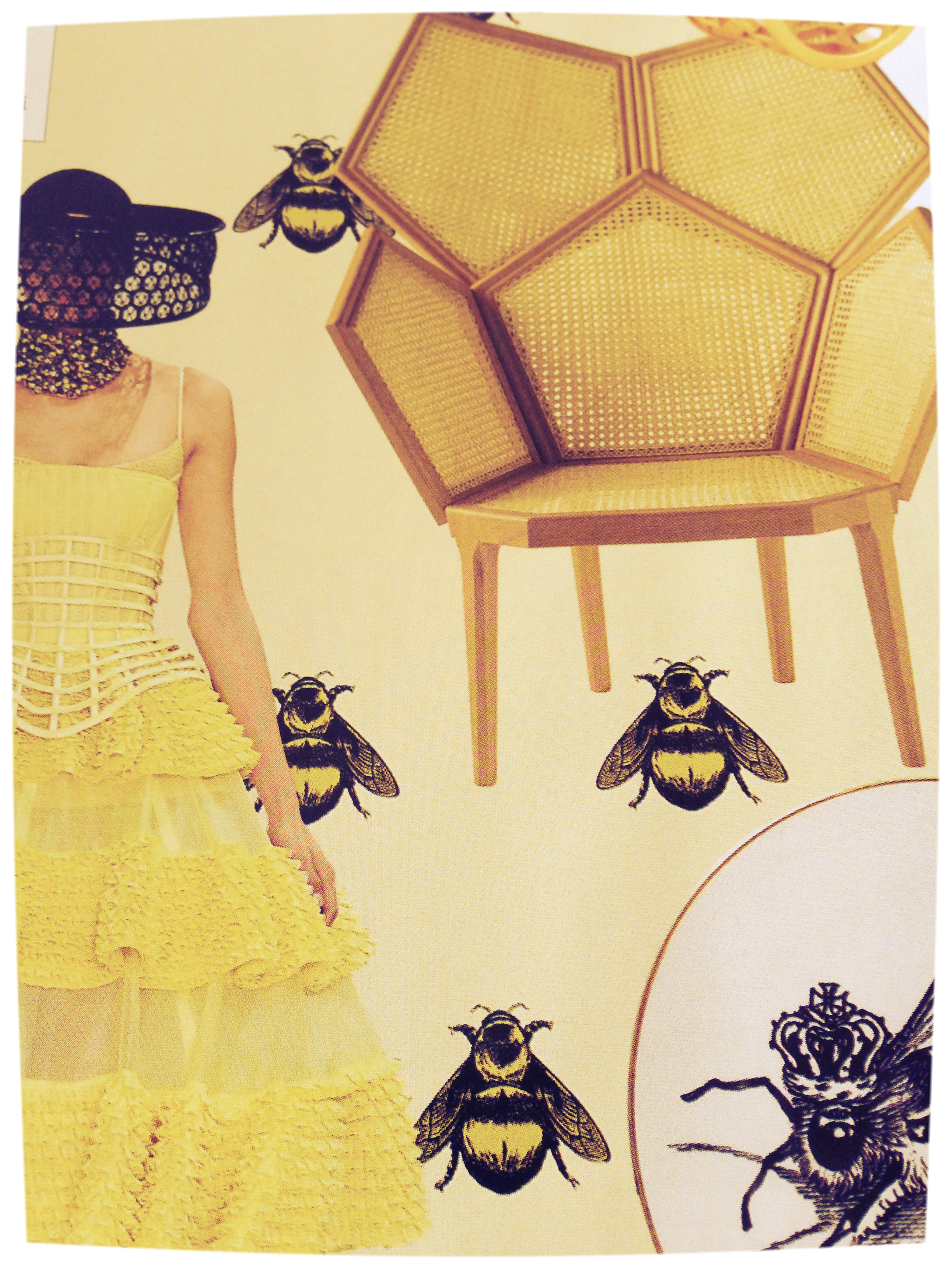 Bee trend Elle Decoration