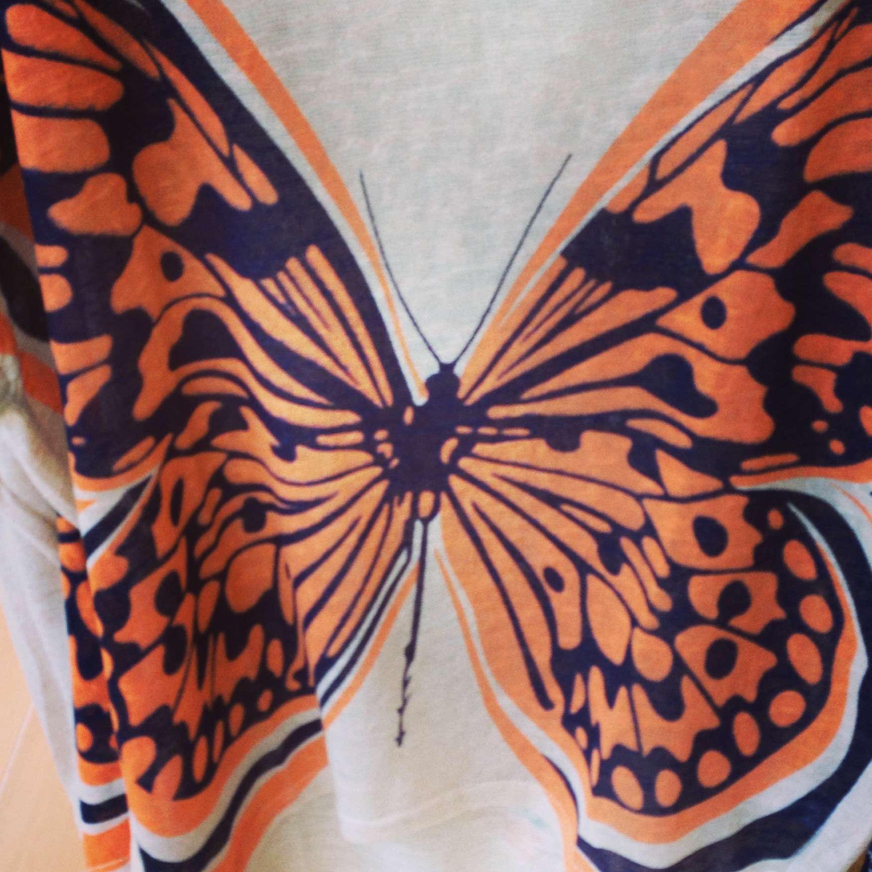 Butterfly design at Apricot