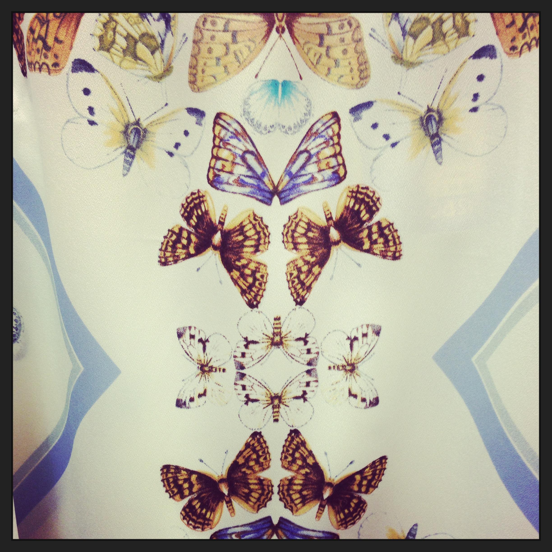Butterfly dress Oasis