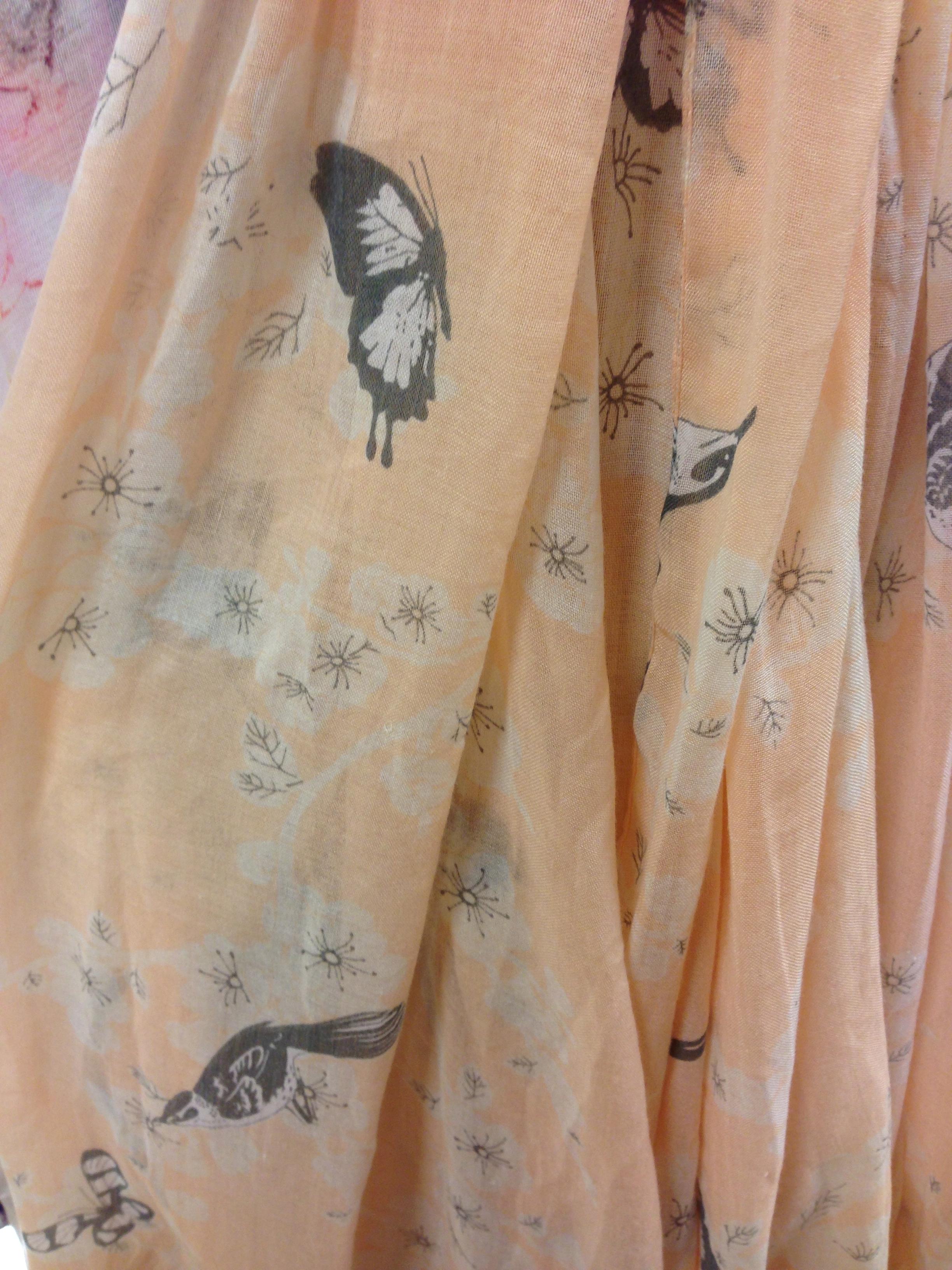 Butterfly scarf