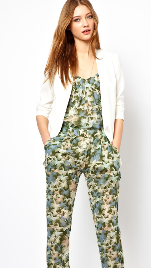 butterfly jump suit