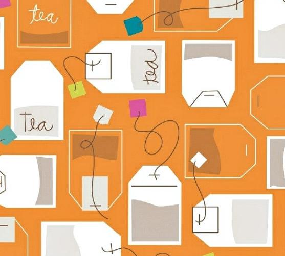 tea bag print etsy