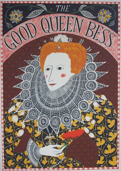 The Good Queen Bess. I LOOOOVE this!