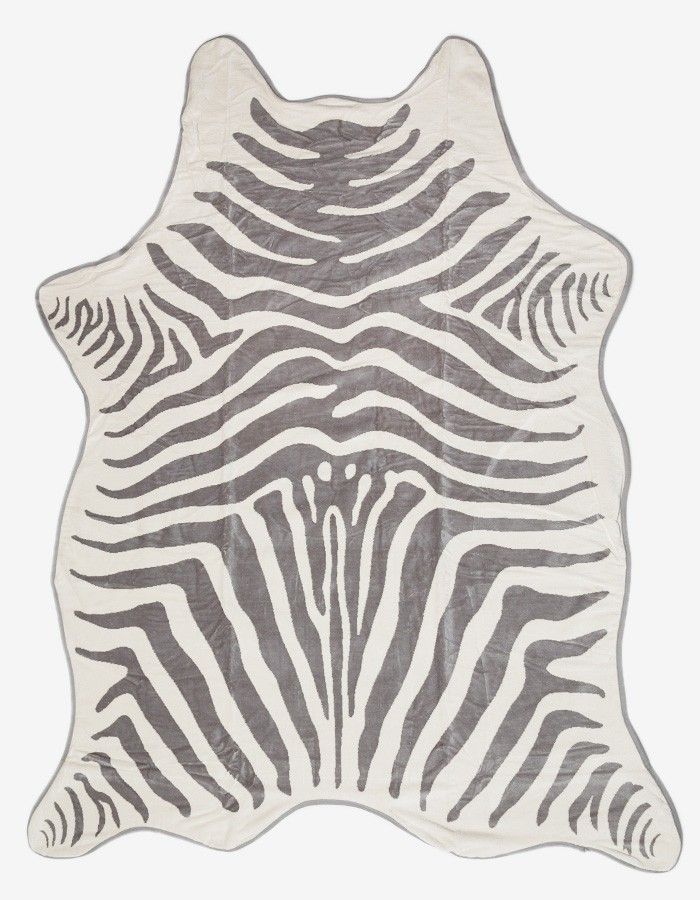 Maslin & Co Zebra Towel.