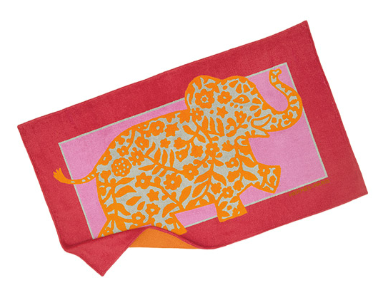 Hermes Elephant King beach towel