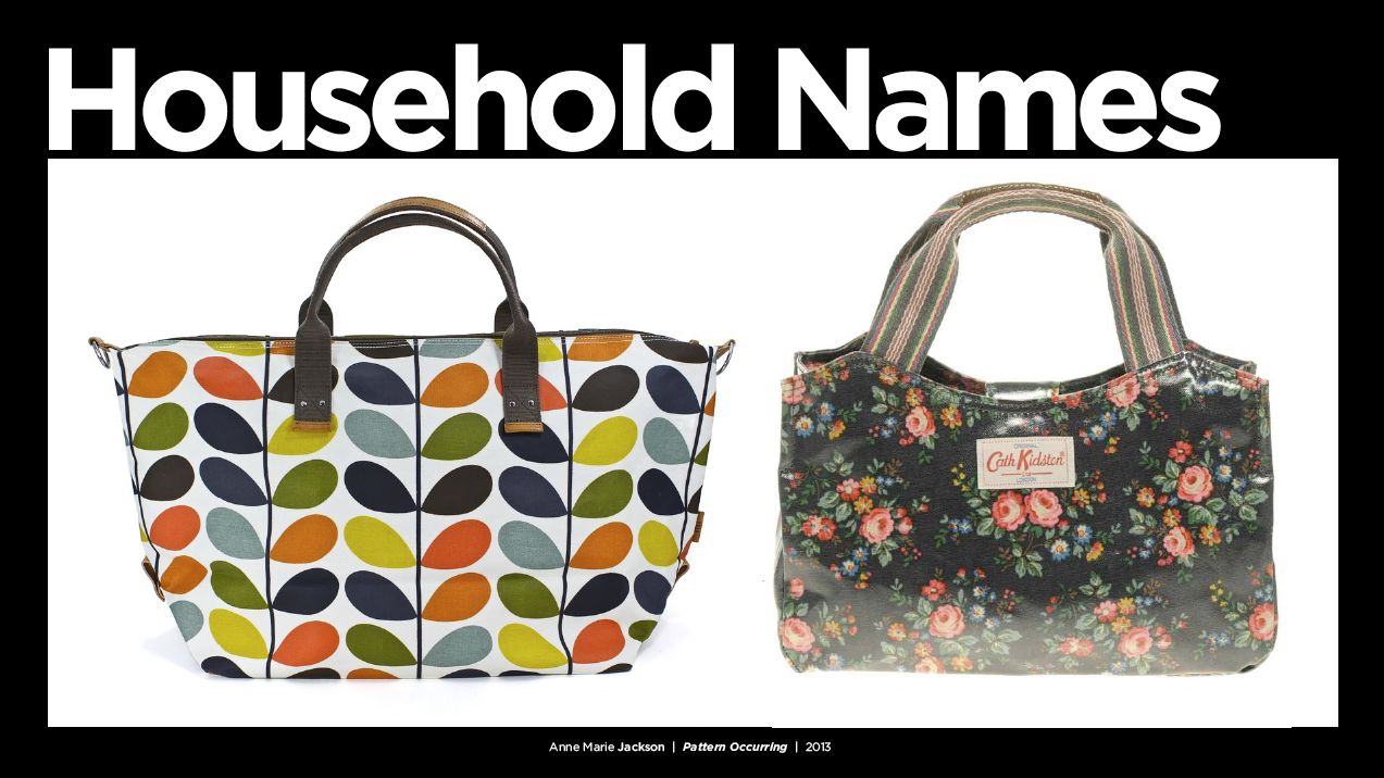 Orla Kiely and Cath Kidston The Queens of Print