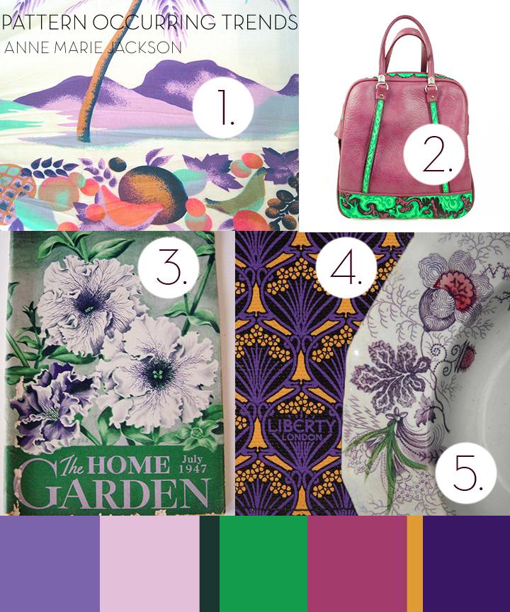 Anne Marie Jackson trends colour me happy purple