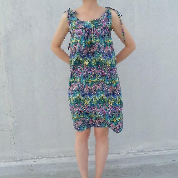Vintage Marbled Dress