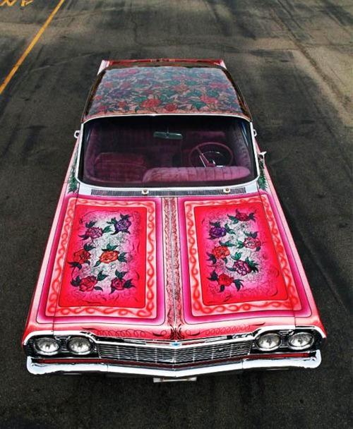 pattern occurring car