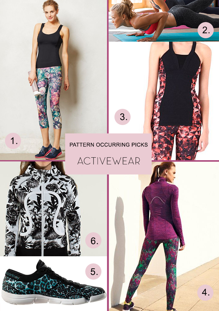 Pattern Occurring Picks - Activewear