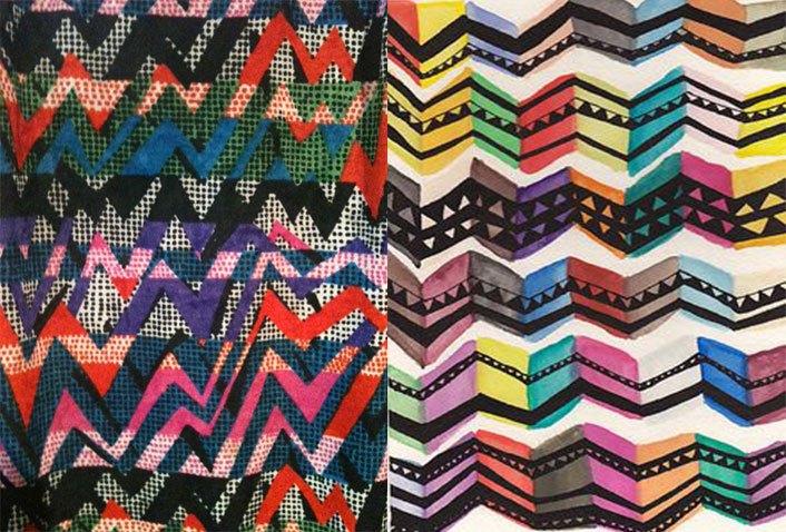 Pattern Occurring View - Chevron