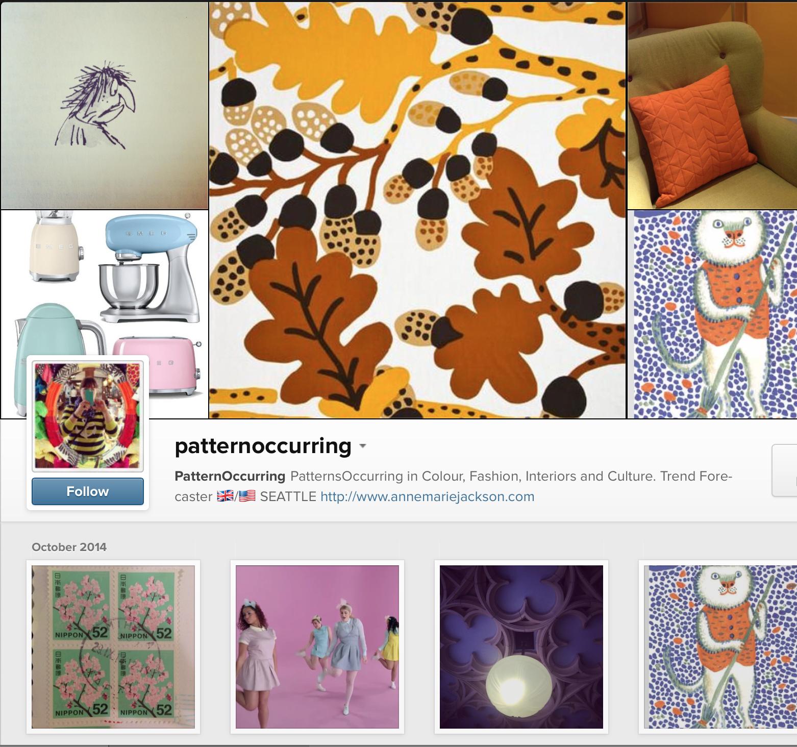 Anne Marie Jackson Pattern Occurring Instagram