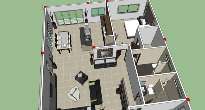 Phen 3 Bedroom Home Design No2 Nkd