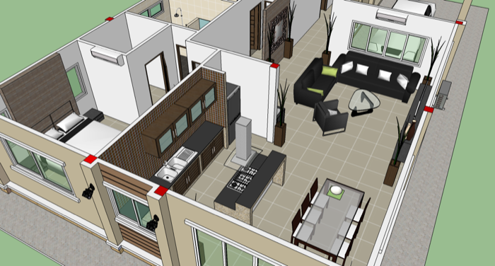 Phen 3 Bedroom Home Design No 2 Nkd