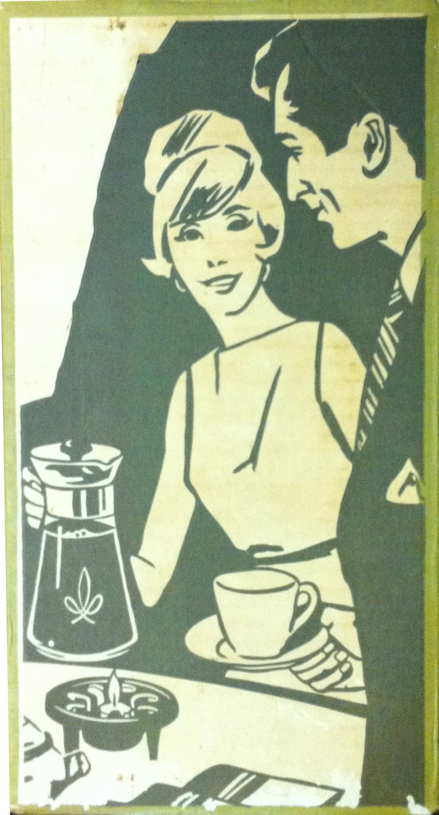 Photo: Packaging for a 1960s coffee jug