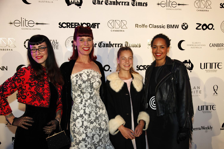 With the April's Caravan girls!