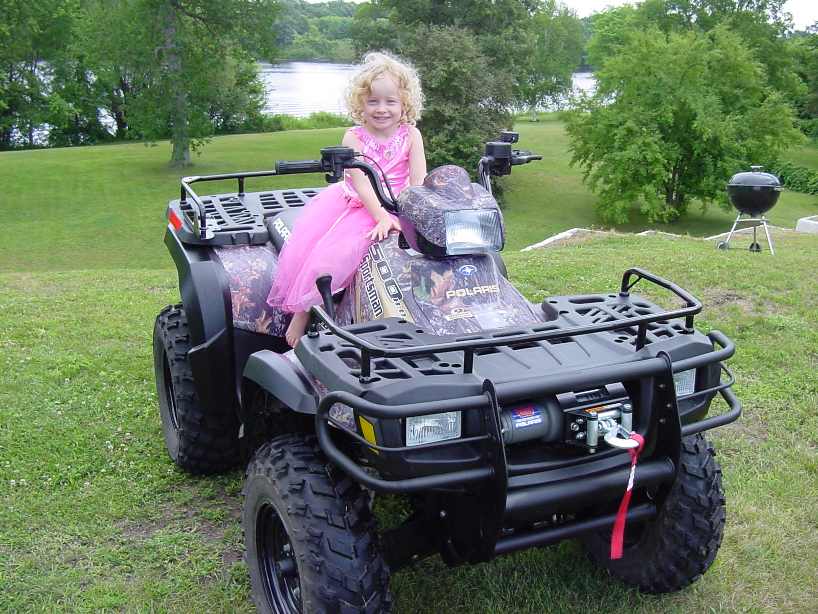 Four-wheeling dress