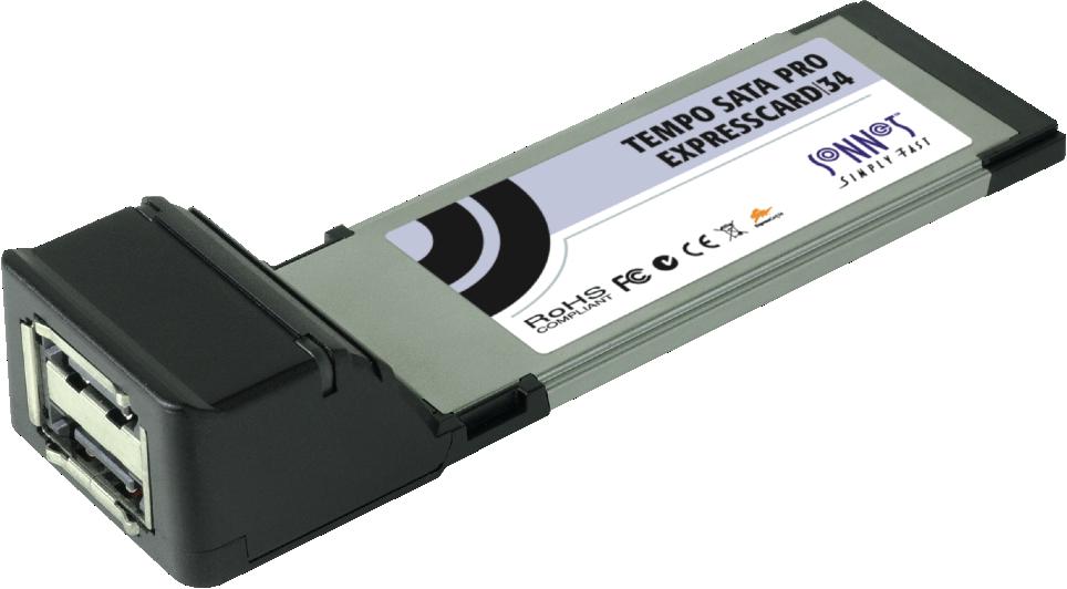 Sonnet Tempo SATA Pro 6Gb ExpressCard/34