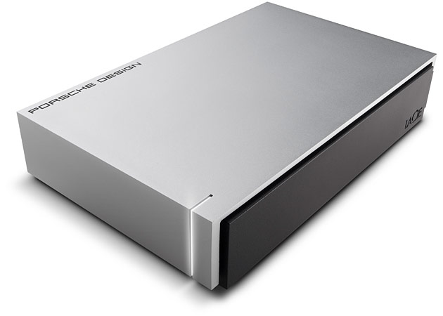 Porsche Design Desktop Drive - 3TB 4TB 5TB 8TBUSB3 poortUSB3 USB3 kabelDownload Data Sheet