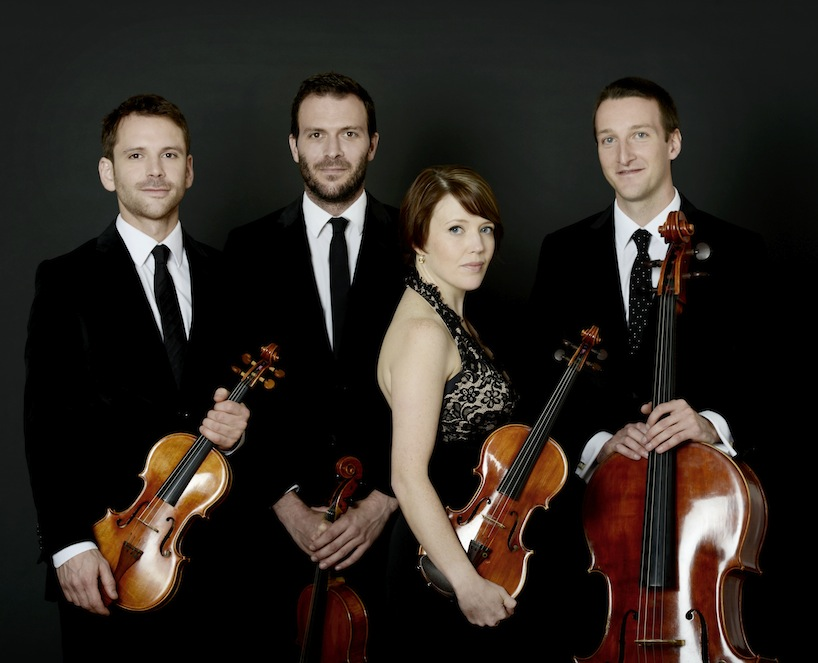 Heath Quartet, 2014, 2015 cr. Sussie Ahlburg.