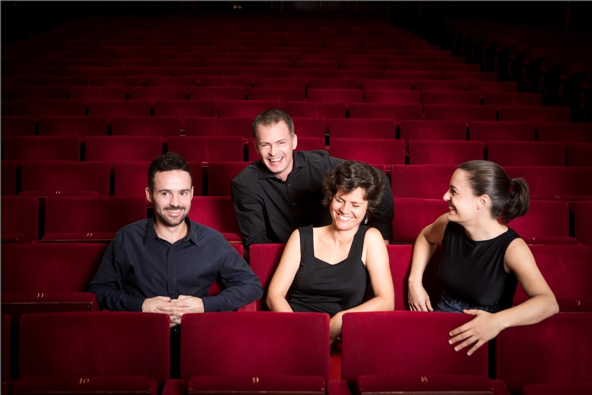 Elias Quartet, 2016, cr. Benjamin Ealovega