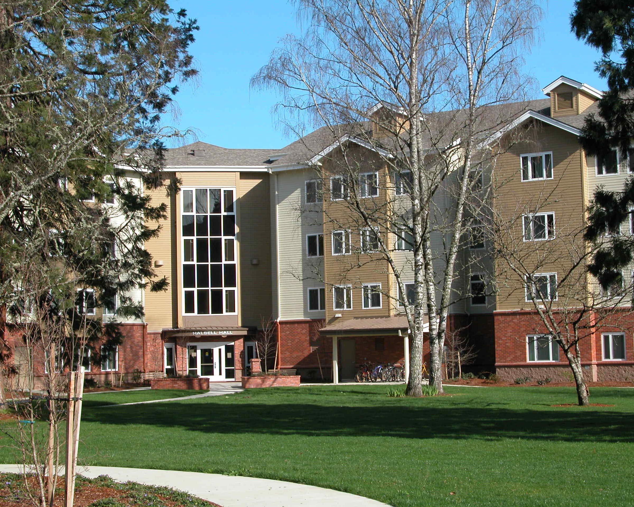 HALSELL RESIDENCE HALL  Oregon State University