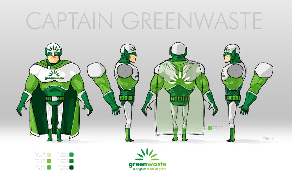 Captain GreenWaste
