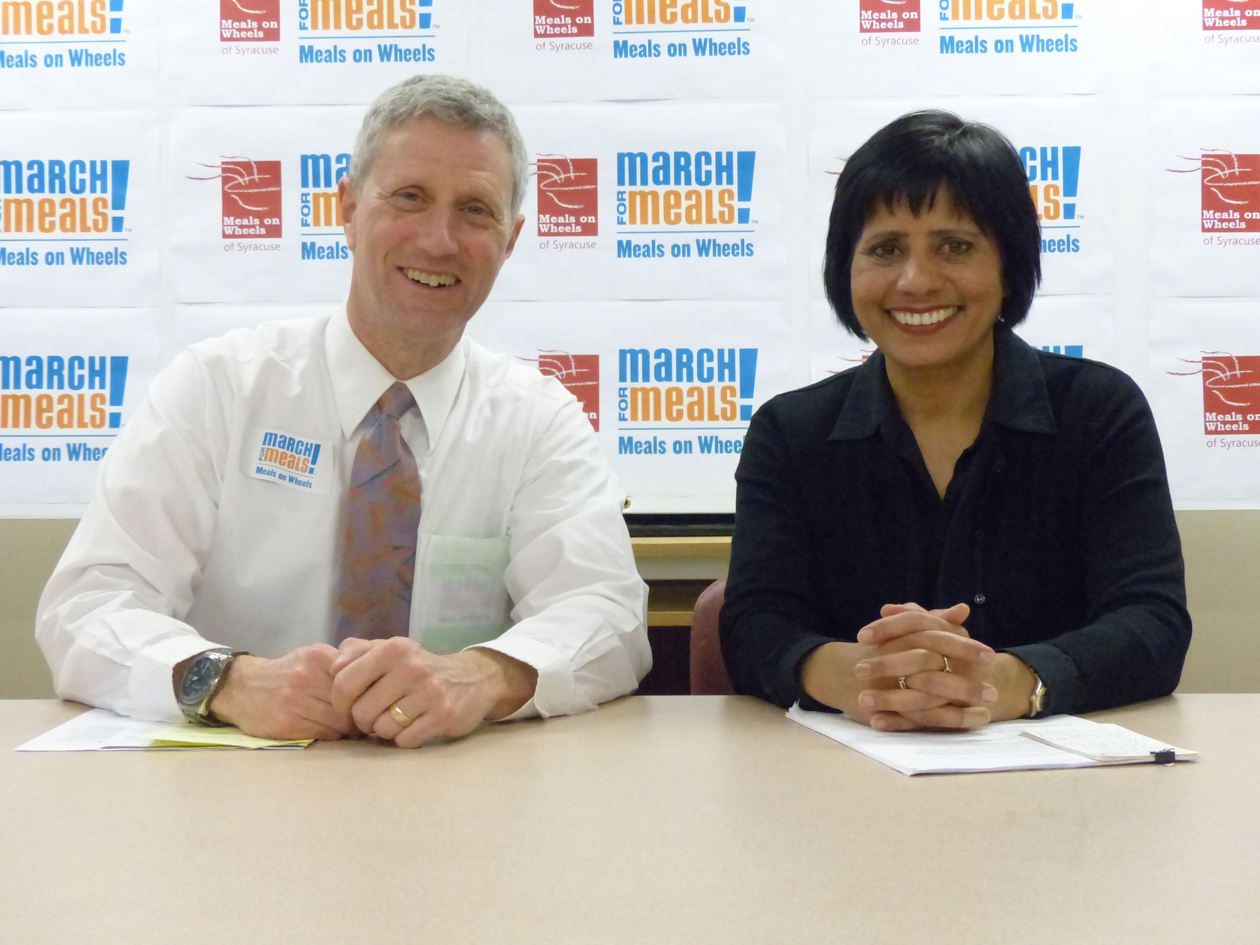 MASON KAUFMAN, EXECUTIVE DIRECTOR, MEALS ON WHEELS OF SYRACUSE AND DR. INDU GUPTA, MD, MPH, COMMISSIONER OF HEALTH, ONONDAGA COUNTY HEALTH DEPARTMENT