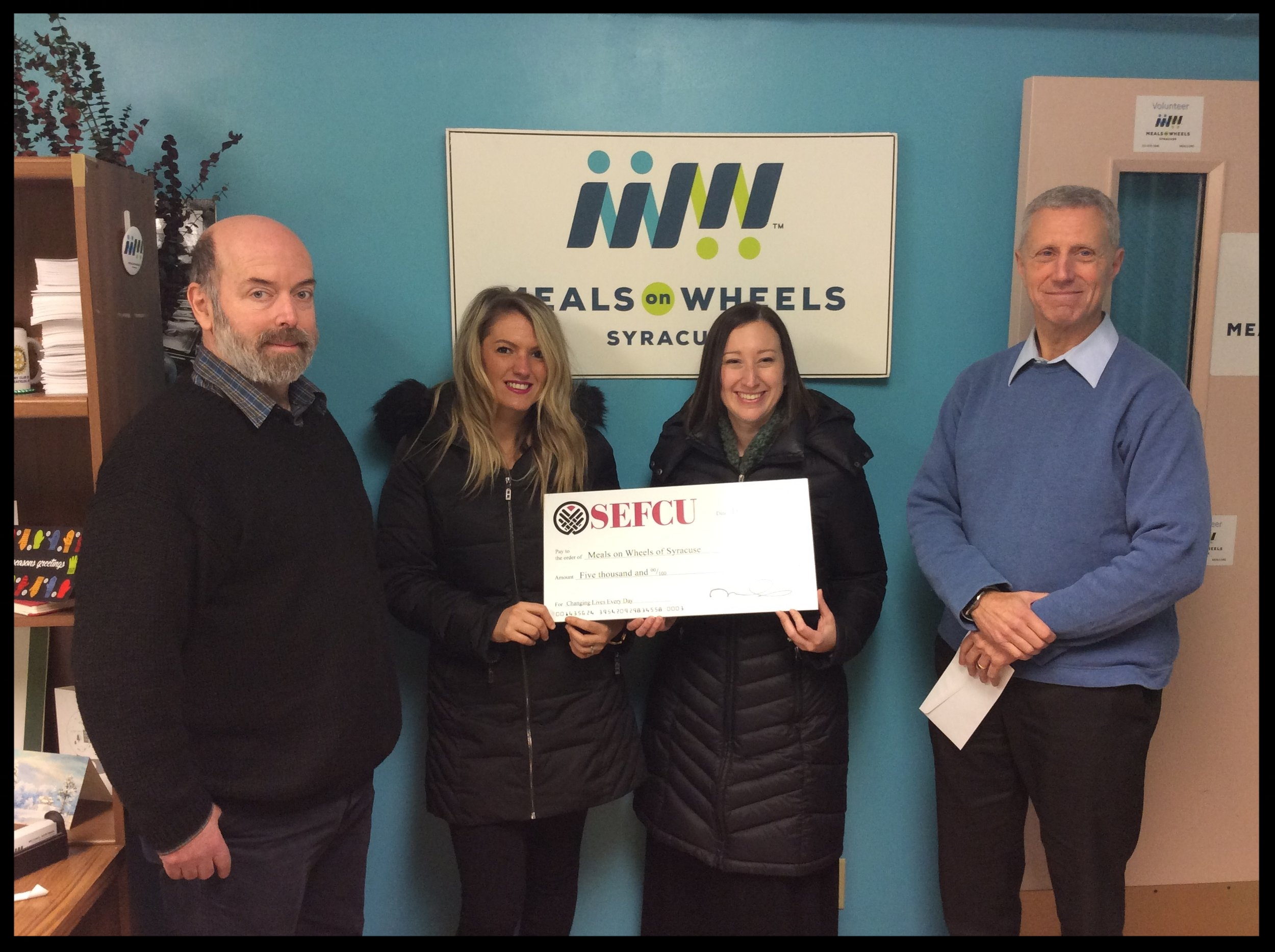 SEFCU and Meals On Wheels Of Syracuse