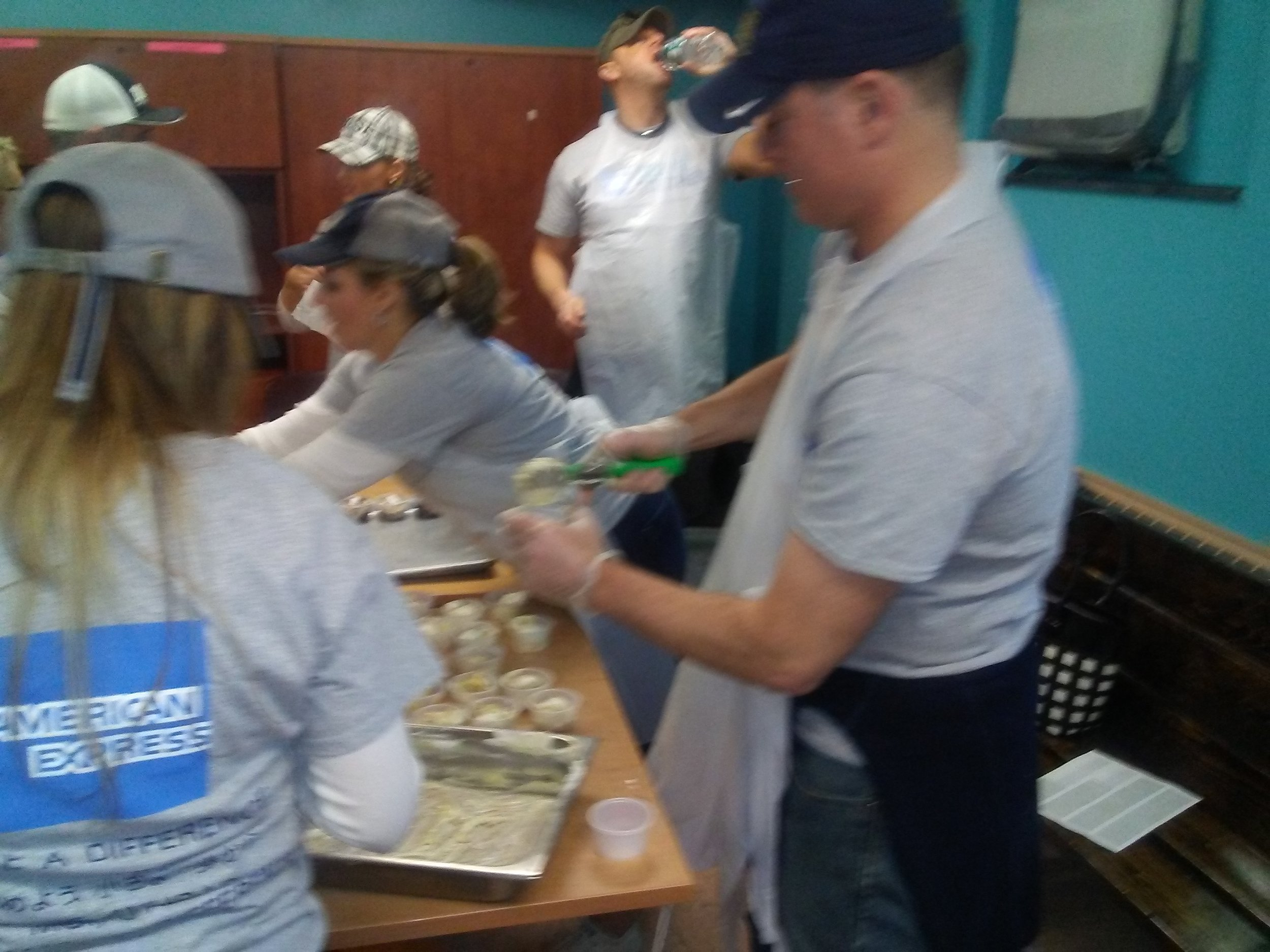 American Express and Meals On Wheels Of Syracuse