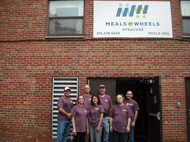 Meals On Wheels Of Syracuse welcomes Anaren, Inc.