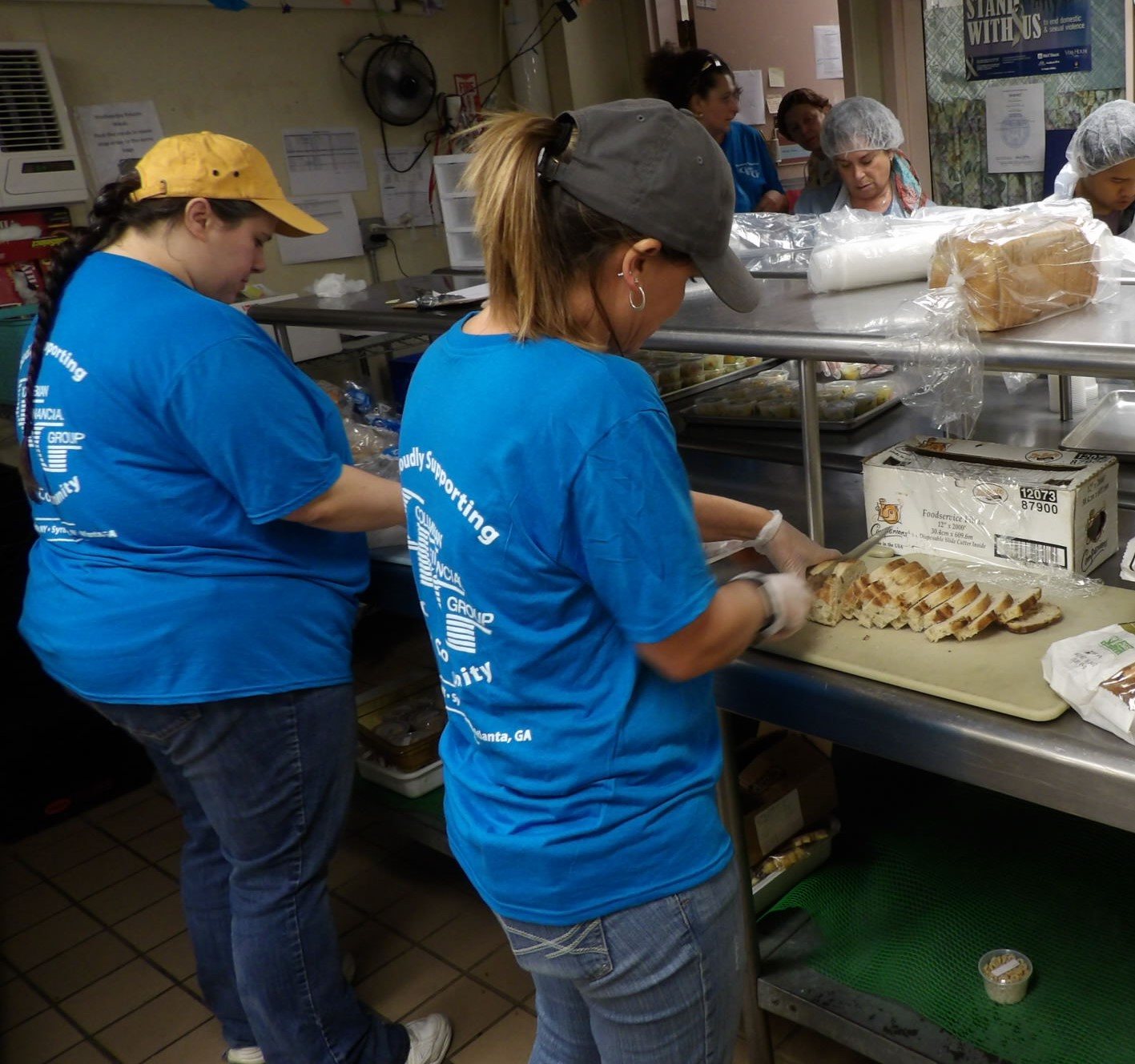 Meals On Wheels Of Syracuse Thanks Columbian Financial Group