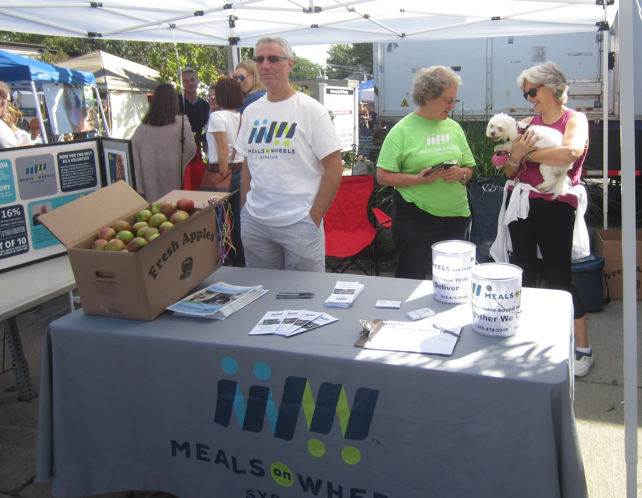 Meals On Wheels Of Syracuse ON THE ROAD