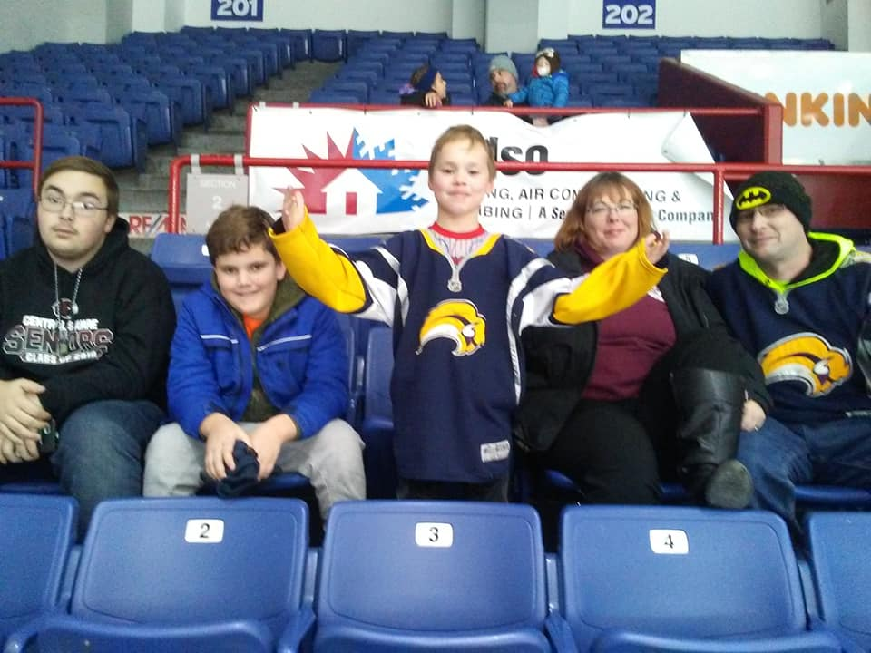 Syracuse Crunch and Meals On Wheels Of Syracuse